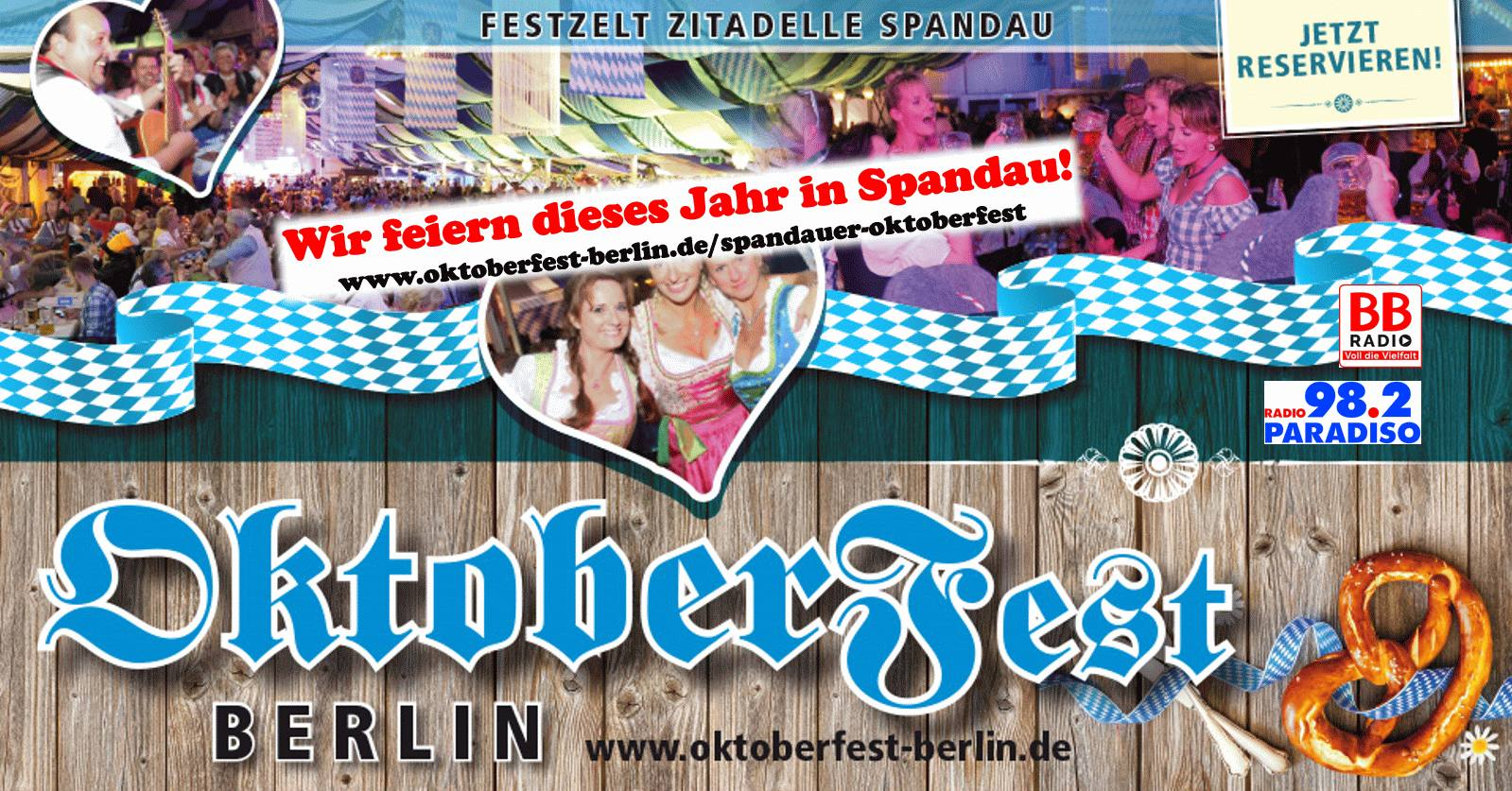 Blue and White Oktoberfest